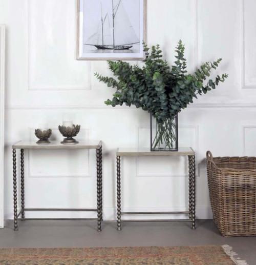 biggie best MH811 marble table, white marble metal legs