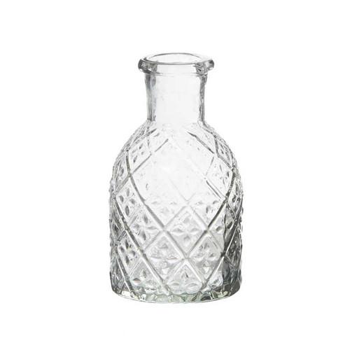 Pharmacy Glass Candleholder or Vase, 2 Designs