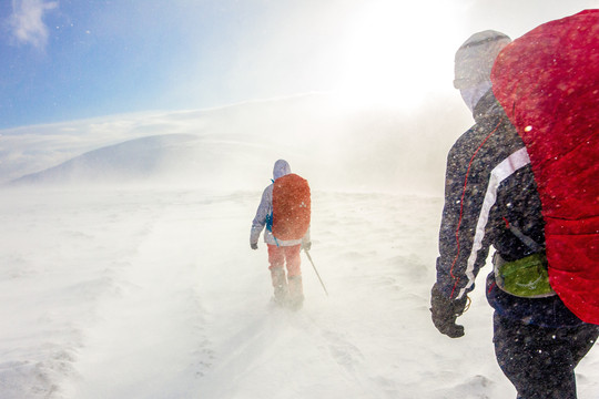 How to Tackle a Long-Distance Hike in Winter
