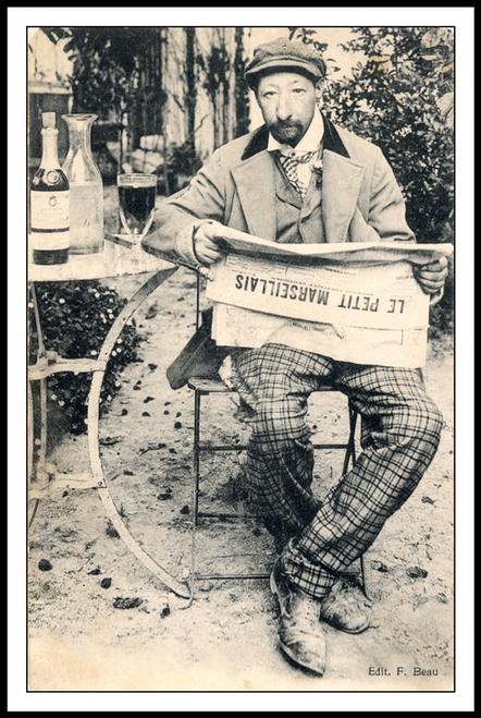 Le Petit Marseillais Absinthe Poster