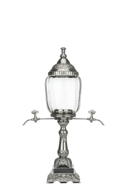 La Belle Orléans Absinthe Fountain, 2 Spout is made from mouth-blown glass and is a perfect absinthe fountain for the at-home drinker.