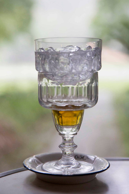 Glass Absinthe Verse-Eau (Water Pourer), Uncut