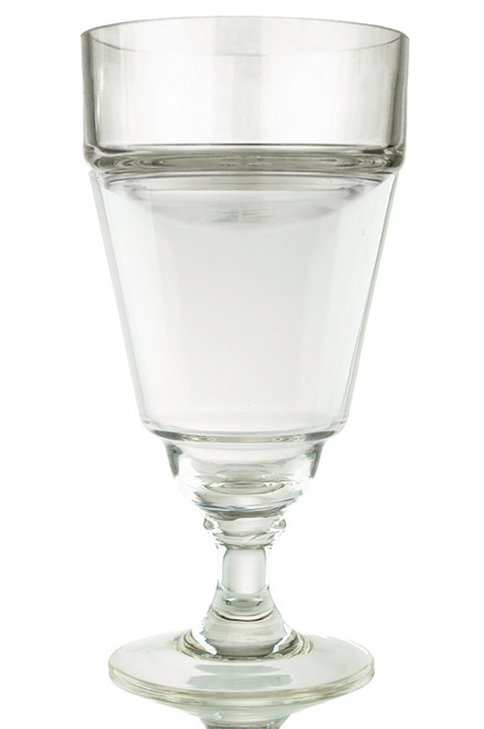 Glass Absinthe Verse-Eau (Water Pourer), Uncut