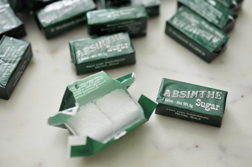 20 Wrapped Absinthe Sugar Cubes (10 Packets)