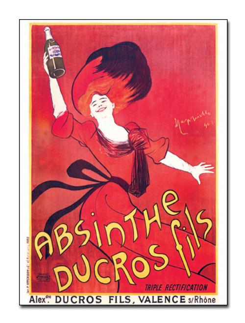 Absinthe Ducros Postcard