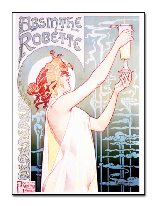Absinthe Robette Postcard