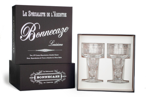 Coupe Absinthe Glasses with Gift Box