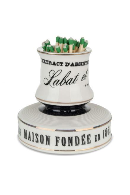 Labat & Fils Porcelain Match Strike