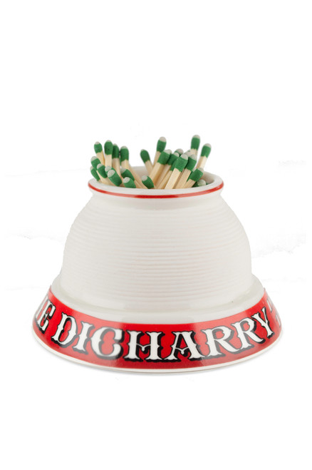 """Dicharry Match Strike, with Gift Box and 100 """"Strike Anywhere"""" Matches"""