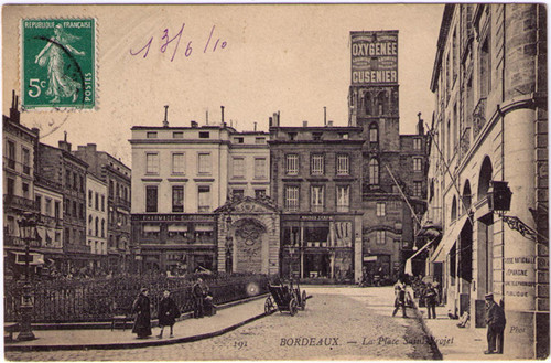 Bordeaux - Oxygenee Cusiner Postcard