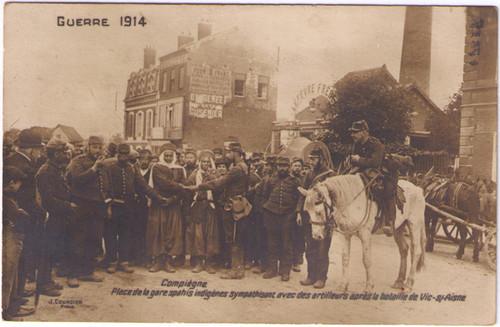 Guerre 1914 - Oxygenee Cusenier Postcard
