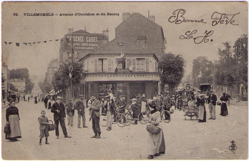Villemomble - Absinthe Oxygenee Cusenier Postcard 46043