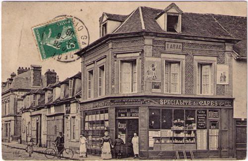 Beauville - Specialite de Cafes Postcard