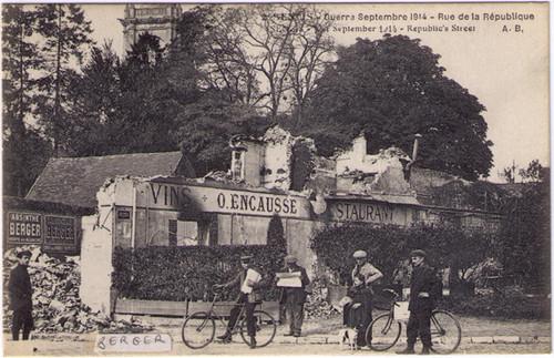 Guerre de 1914 - Absinthe Berger Postcard 46010