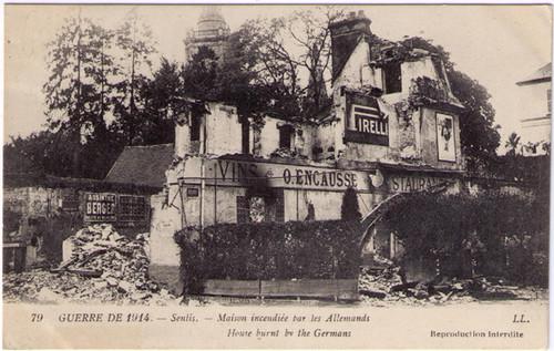 Guerre de 1914 - Absinthe Berger Postcard