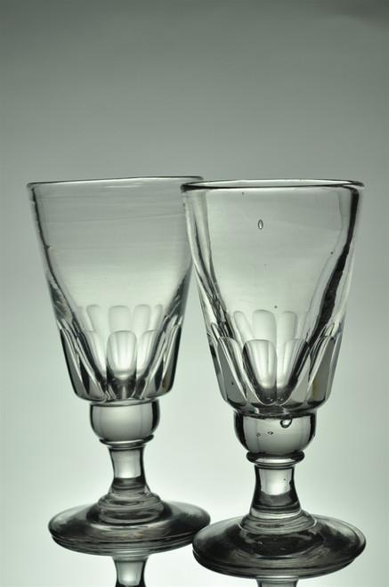 Pair of Antique Absinthe Glasses