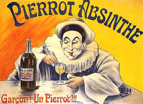 Absinthe Pierrot Poster 43052