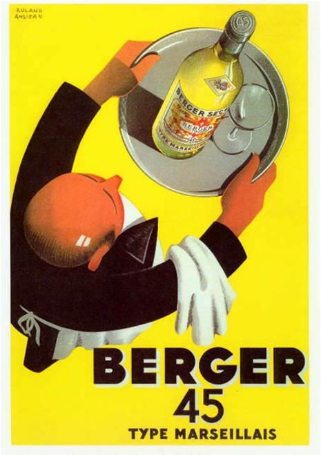 Berger 45 Poster 43012