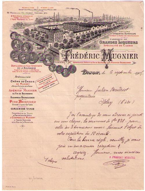 Frederick Mungier Invoice 42710