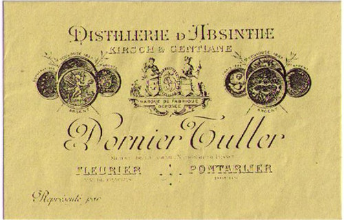 Distillerie Dornier Tuller Business Card
