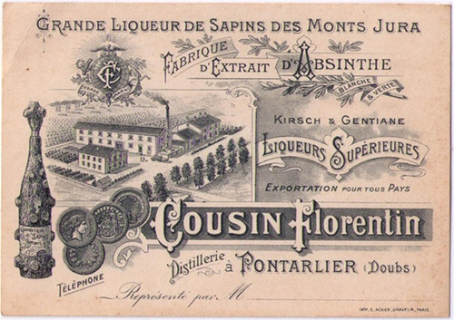 Cousin Florentin Business Card