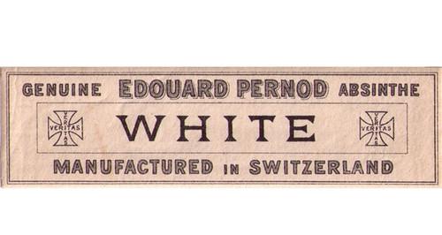 Antique Edouard Pernod Absinthe Bottle Label