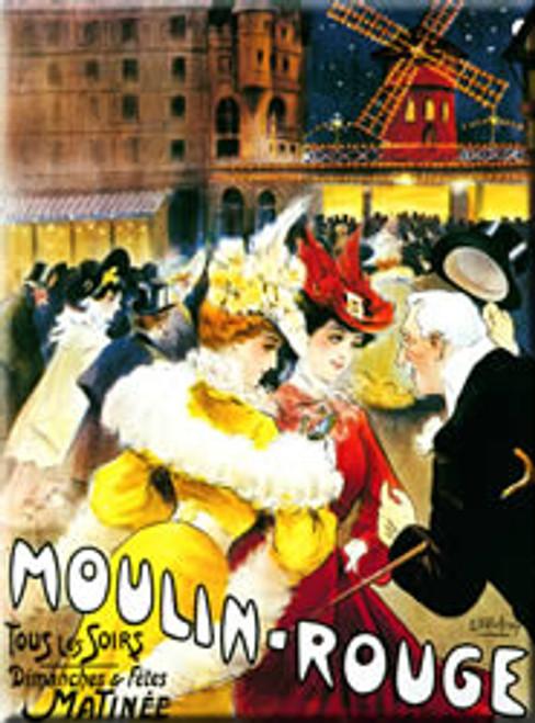 Moulin Rouge Magnet