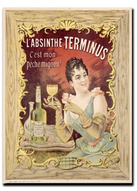 Absinthe Terminus Note Card