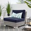Modway EEI-4847 Conway Outdoor Patio Wicker Rattan Armless Chair