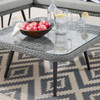 Modway EEI-4659 Endeavor Outdoor Patio Wicker Rattan Square Coffee Table