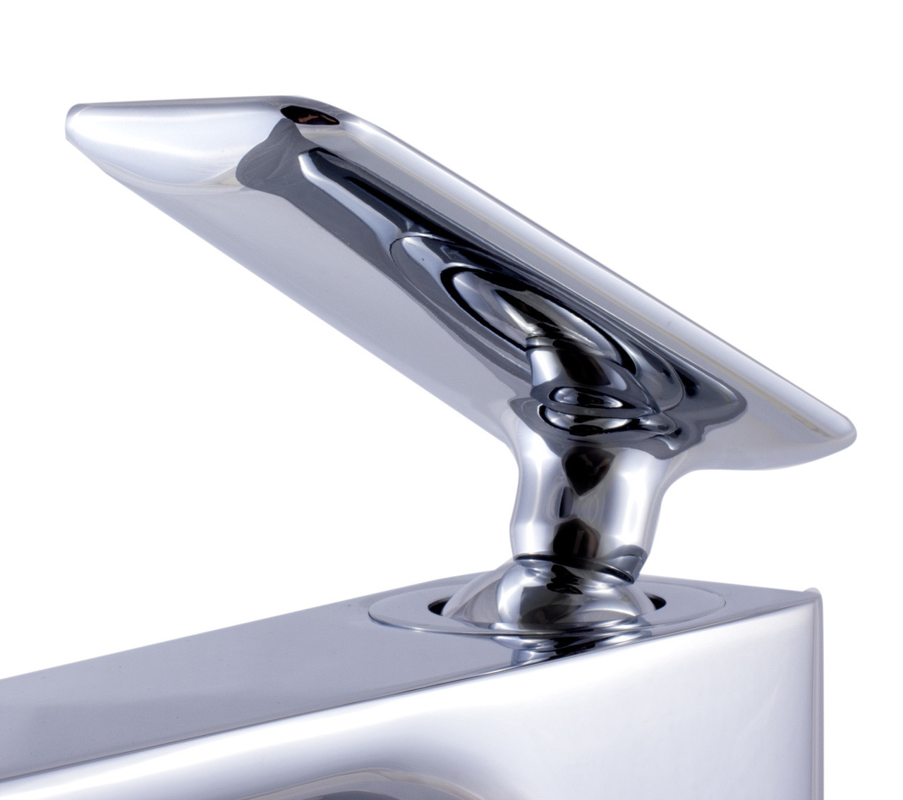 ALFI brand AB1778-PC Polished Chrome Tall Single Hole Modern Bathroom Faucet