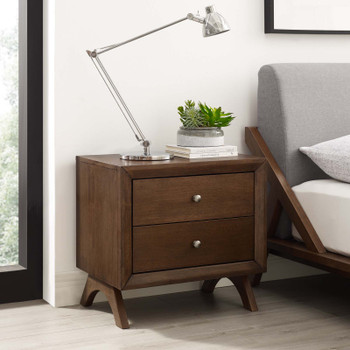 Providence Nightstand or End Table MOD-6057-WAL Walnut