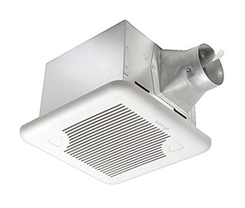 BreezSignature Ventilation Fan - SIG80D - 80 CFM Exhaust Fan with Dual Speed