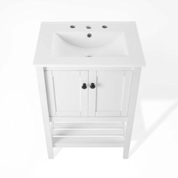 """Prestige 24"""" Bathroom Vanity EEI-4246-WHI-WHI"""