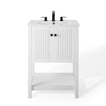 "Steam 24"" Bathroom Vanity EEI-4248-WHI-WHI"