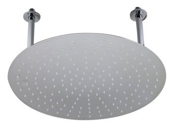 "ALFI brand RAIN20R-PSS 20"" Round Polished Solid Stainless Steel Ultra Thin Rain Shower Head"