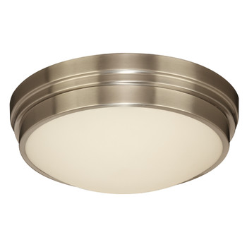PLC1 Single ceiling light from the Turner collection Satin Nickel