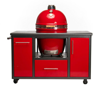 GRILL DOME Infinity X2 EXTRA Large Kamado Grill Complete WITH Dreamcart - In CUSTOM Color Options