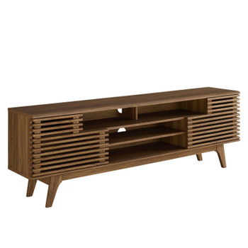 "Render 71"" Media Console TV Stand EEI-3433-WAL"