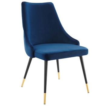 Adorn Tufted Performance Velvet Dining Side Chair EEI-3907-NAV