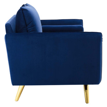 Revive Performance Velvet Sofa EEI-3988-NAV