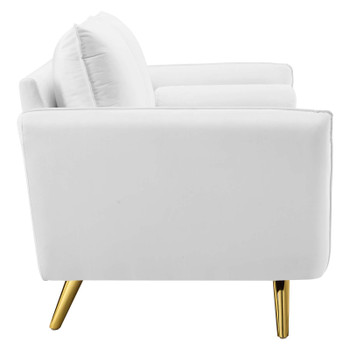 Revive Performance Velvet Sofa EEI-3988-WHI