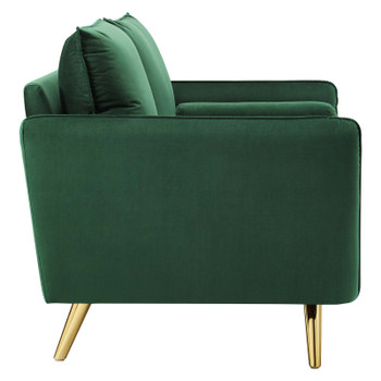 Revive Performance Velvet Loveseat EEI-3989-EME