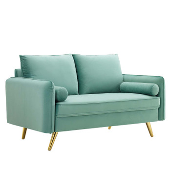 Revive Performance Velvet Loveseat EEI-3989-MIN