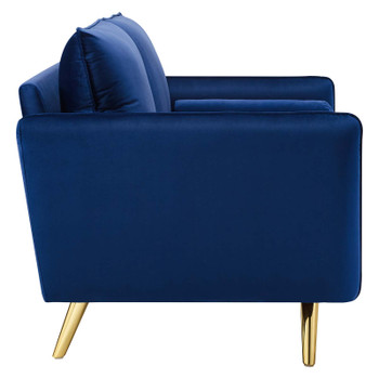 Revive Performance Velvet Loveseat EEI-3989-NAV