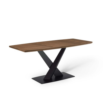Gemini Dining Table EEI-4091-WAL