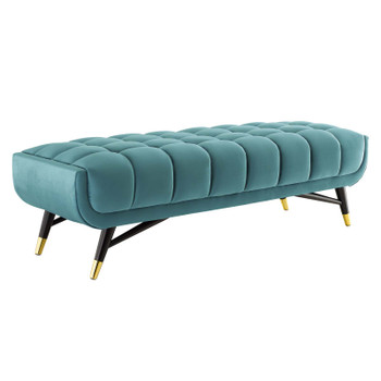 "Adept 60"" Performance Velvet Bench EEI-4241-SEA"