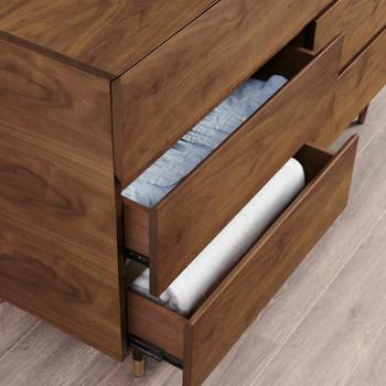Caima 6-Drawer Dresser MOD-6189-WAL