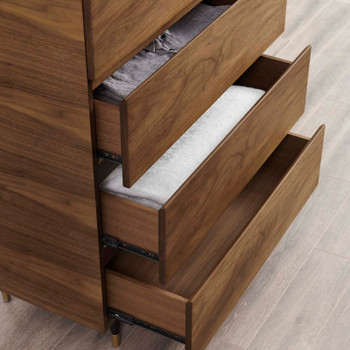 Caima Wood Chest MOD-6190-WAL