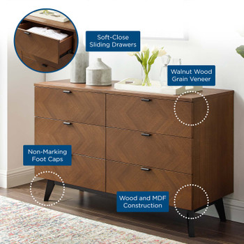 Kali Wood Dresser MOD-6194-WAL